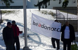 The beadonor Flag Raising occurred on April 5, 2016 at the Scarborough Civic Centre.